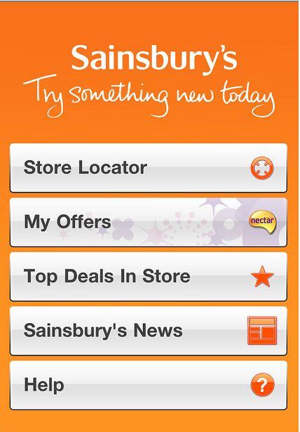 Sainsburys Iphone App
